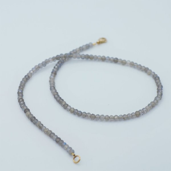Collier Labradorit