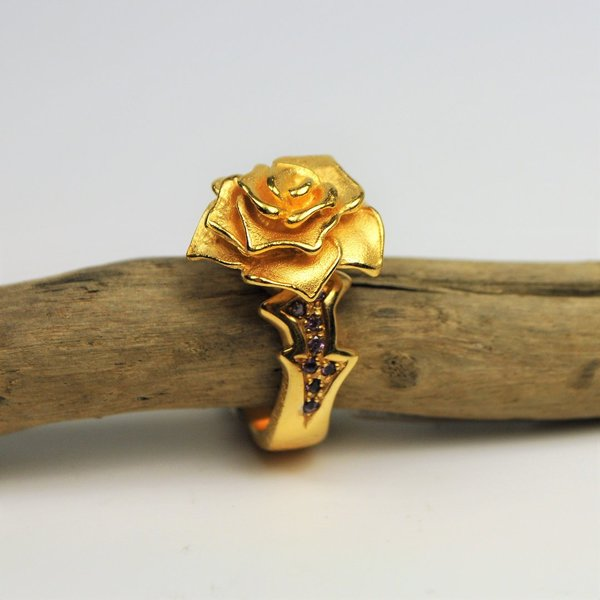 Drachenfels Ring Rose